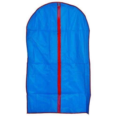 Vetta Чехол для одежды ПВХ 100х60см синий
