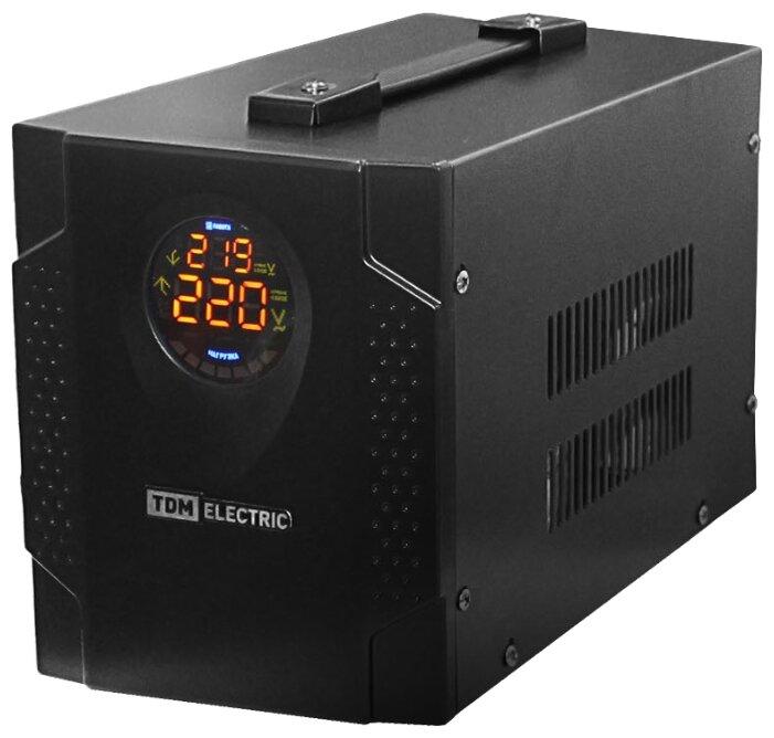 Стабилизатор напряжения однофазный TDM ЕLECTRIC СНС1-1-1,5