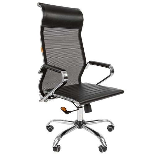 Фото - Компьютерное кресло Chairman 701 сетка для руководителя, обивка: искусственная кожа, цвет: черный компьютерное кресло chairman 668 lt для руководителя обивка искусственная кожа цвет черный бежевый