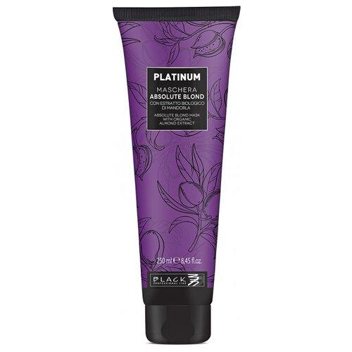 Black professional line Platinum Absolute Blond Маска для осветленных волос, 250 мл шампунь black professional line шоколад и кератин 500 мл