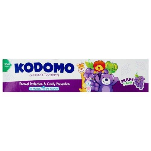 Купить Зубная паста KODOMO Виноград 0.5 +, 40 г, Гигиена полости рта