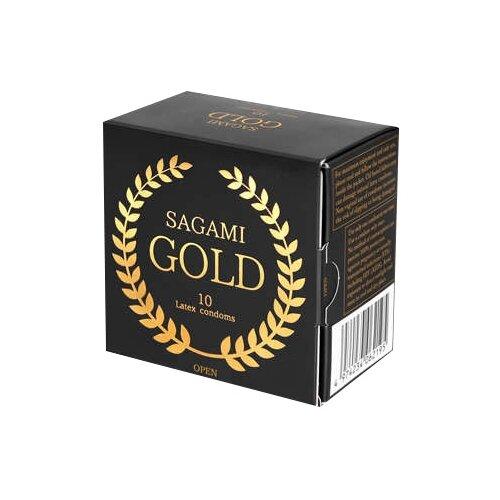 Купить Презервативы Sagami Gold (10 шт.)