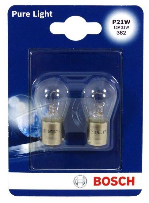 Лампа автомобильная накаливания Bosch Pure Light 1987301017
