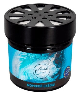 Kraft Ароматизатор для автомобиля Fresh&sea морской сквош 150 г