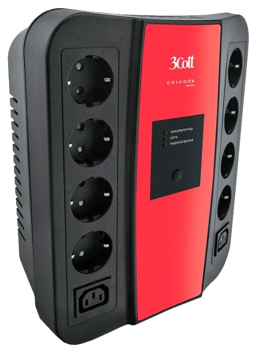 Интерактивный ИБП 3Cott 3C-850-SPB