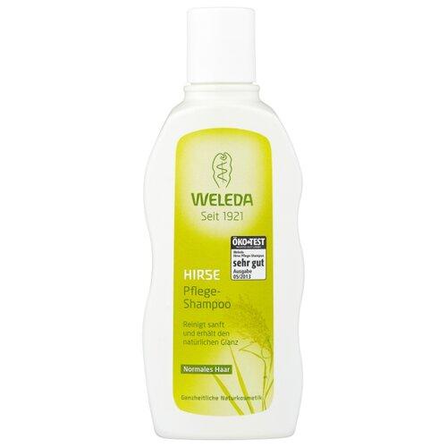 Weleda шампунь с просом для нормальных волос 190 мл weleda масло для волос 50 мл weleda линия для волос