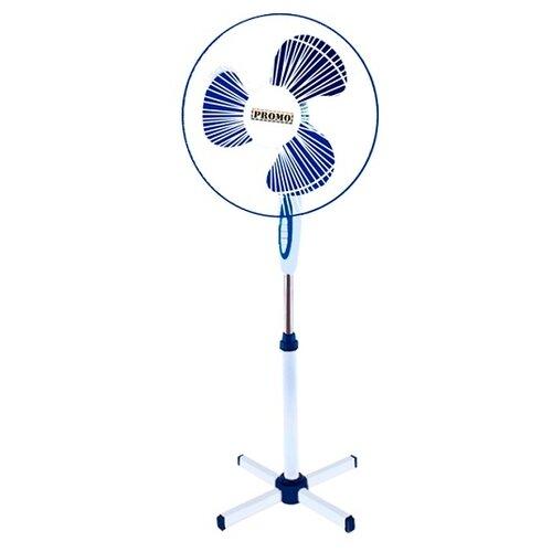 Напольный вентилятор PROMO PR-F3302 белый/синий