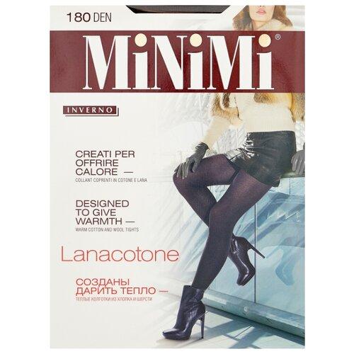 Колготки MiNiMi Lanacotone 180 den, размер 4-L, moka (коричневый) колготки minimi lanacotone 180 den размер 4 l nero черный