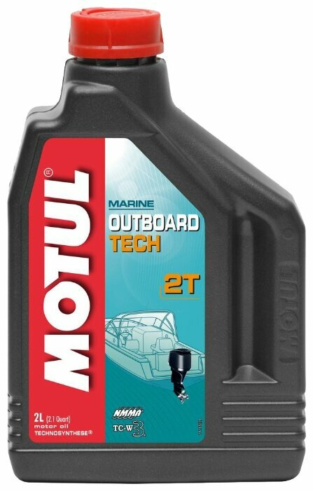 MOTUL Outboard 2T моторное масло 12*1л (Technosynthese®) 102788