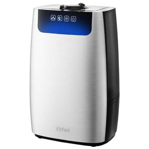 Очиститель/увлажнитель воздуха Kitfort KT-2803-1, серебристый/черный