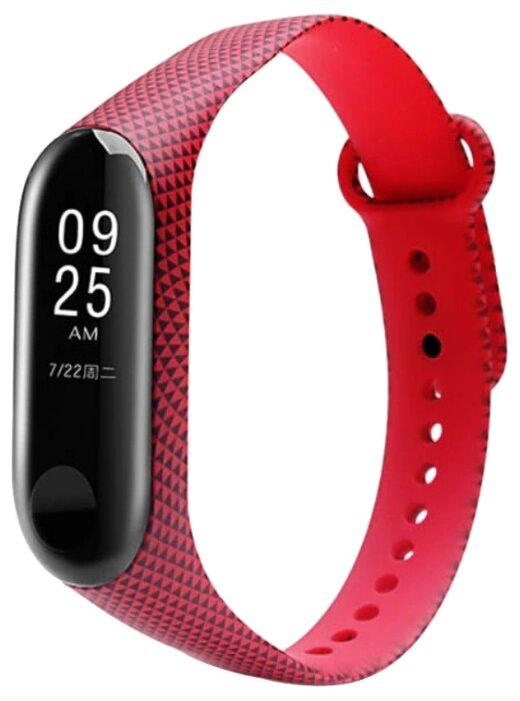 Ремешок GSMIN для фитнес браслета Xiaomi Mi Band 3 (Дизайн 11)