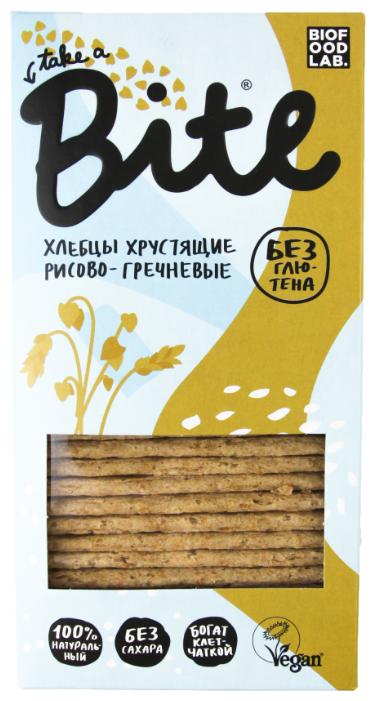 Хлебцы Take a Bite хрустящие рисово-гречневые, 150г