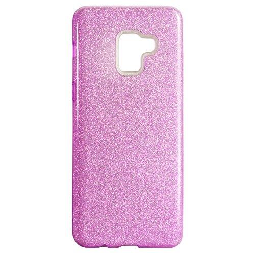 Купить Чехол Akami Shine для Samsung Galaxy A8 Plus розовый