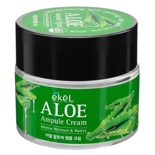 Ekel Ampule Cream Aloe Крем для лица с алоэ 70 млУвлажнение и питание<br>