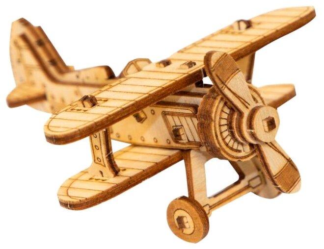 Сборная модель Uniwood Миниатюрный Unit Самолет И-15
