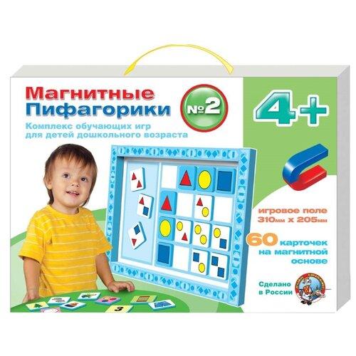 Купить Настольная игра Десятое королевство Магнитные пифагорики №2 4+, Настольные игры
