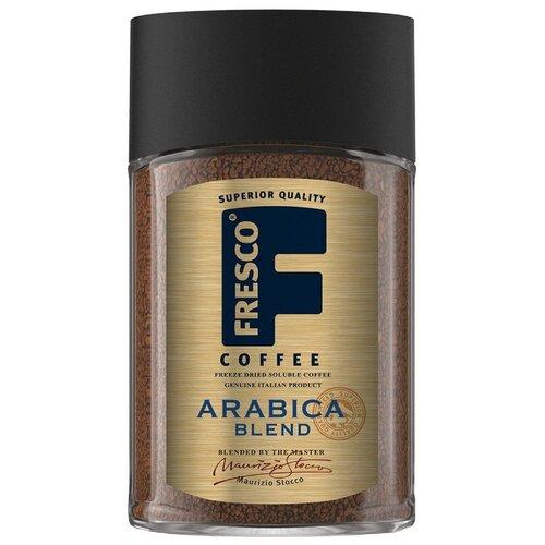 Кофе растворимый Fresco Arabica Blend сублимированный, стеклянная банка, 100 г