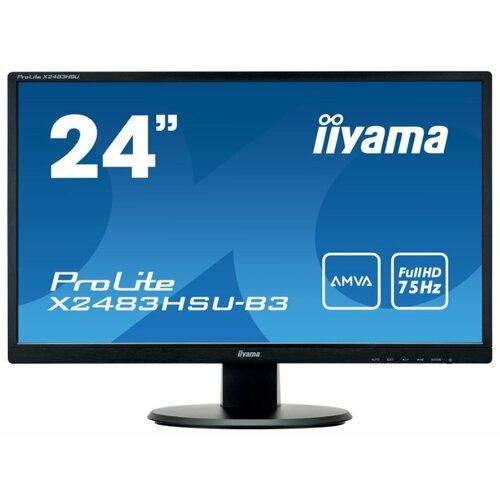 Купить Монитор Iiyama ProLite X2483HSU-B3