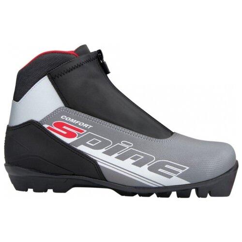 Ботинки для беговых лыж Spine Comfort 483/7 серый/черный 42 ботинки лыжные spine nnn spine smart черный р 35