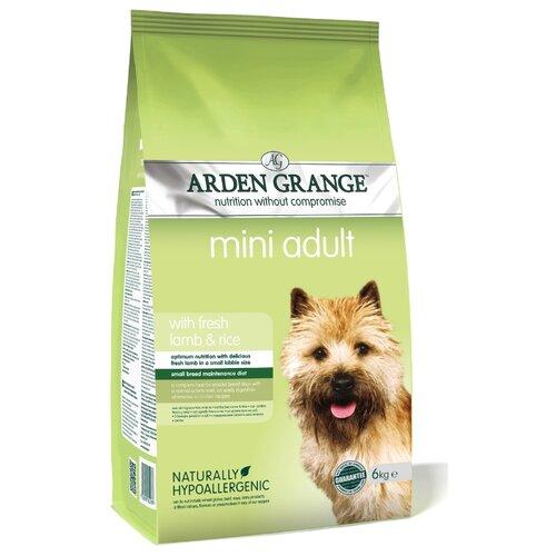 Корм для собак Arden Grange (6 кг) Adult Mini ягненок и рис для взрослых собак мелких пород arden grange arden grange adult pork