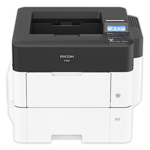 Фото - Принтер Ricoh P 801, черный/белый принтер ricoh sp 330dn белый черный