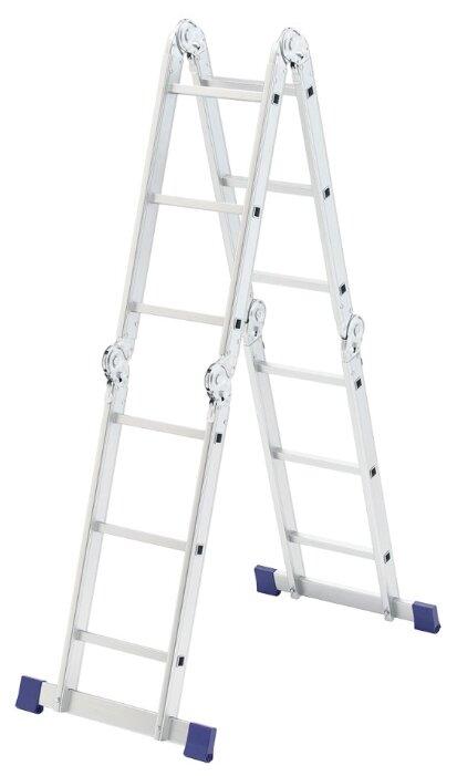 Лестница трансформер 4-секционная Сибртех 97882