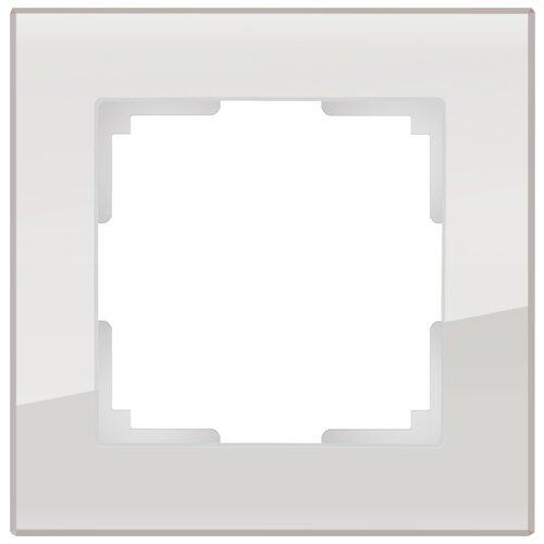 Рамка 1п Werkel WL01-Frame-01, серый рамка 1п werkel wl01 frame 01 dbl белый