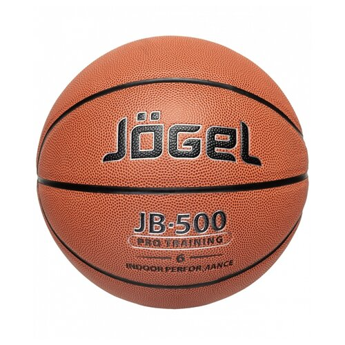 Баскетбольный мяч Jogel JB-500 №6, р. 6 коричневый