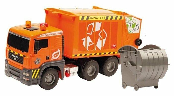 Мусоровоз Dickie Toys Air Pump (3809000) 55 см оранжевый