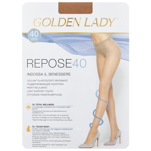 Колготки Golden Lady Repose 40 den, размер 5-XL, natural (бежевый) колготки golden lady repose 40 den размер 5 xl natural бежевый