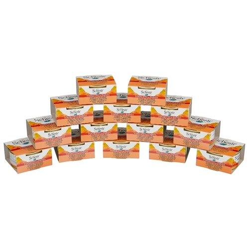 Корм для кошек Schesir С тунцом и папайей для кошек (0.075 кг) 14 шт.Корма для кошек<br>