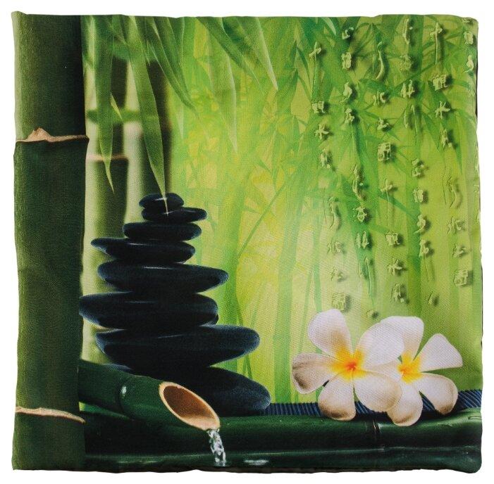 Чехол для подушки Gift'n'Home Дзен 40х40 см (НВЛ-40 ZEN(g)) зеленый