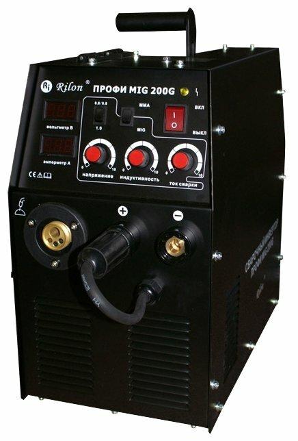 Сварочный аппарат Rilon ПРОФИ MIG 200G (MIG/MAG, MMA)