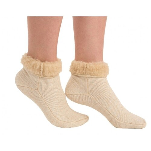Носки Holty из овечьей шерсти 040901-0400, размер S(34-36), бежевый носки holty из овечьей шерсти 040901 0400 размер s 34 36 бежевый