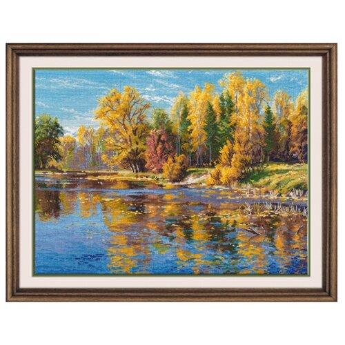 Купить Овен Цветной Вышивка крестом Осень 34 х 25 см (1082), Наборы для вышивания