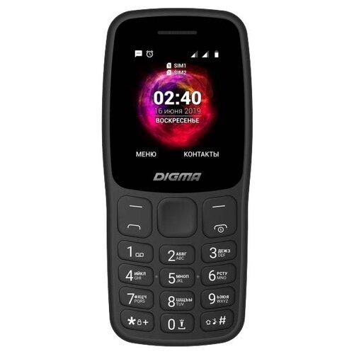 Телефон DIGMA LINX C170 черный