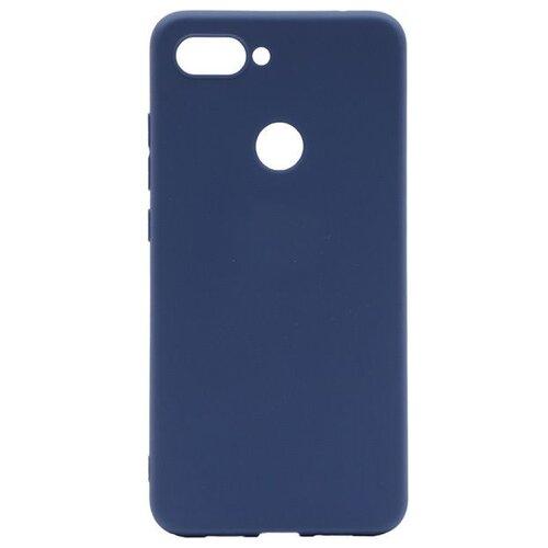 Чехол Gosso 200473W для Xiaomi Mi8 Lite синий чехол для сотового телефона gosso cases для huawei p20 lite soft touch 186905 темно синий