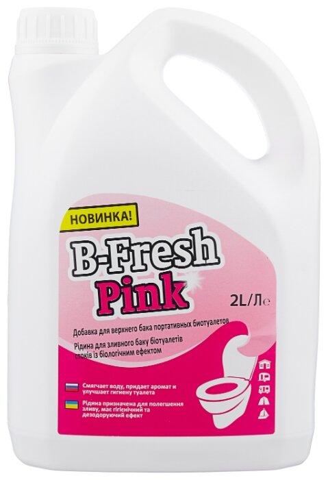 Thetford Туалетная жидкость B-Fresh Pink 2 л — купить по выгодной цене на Яндекс.Маркете