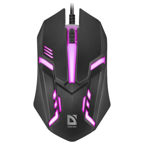 Мышь Defender Cyber MB-560L Black USB
