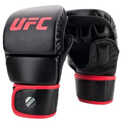 Фото - Тренировочные перчатки UFC Sparring для MMA черный S/M 8 oz боксерские перчатки ufc sparring 6 16 oz желтый 12 oz