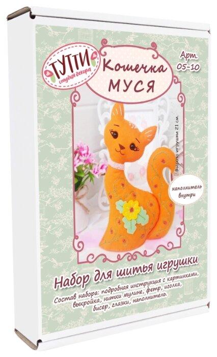 Тутти Набор для творчества шьем из фетра Кошечка Муся (05-10)