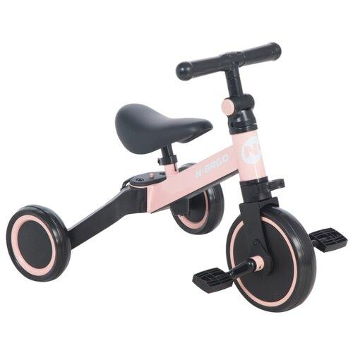 Купить Трехколесный велосипед N.Ergo A006 pink, Трехколесные велосипеды