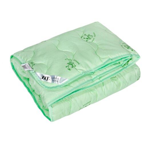 Одеяло DREAM TIME Бамбуковое волокно 150 г/кв.м, легкое, 140 х 205 см (салатовый)