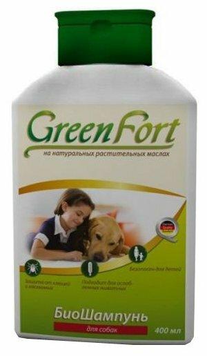 GreenFort БиоШампунь от блох для собак