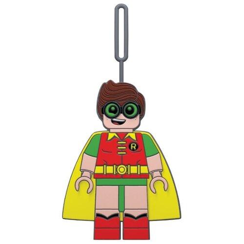 Бирка для багажа LEGO Batman Movie Robin, желтый/зеленый/красный/коричневый