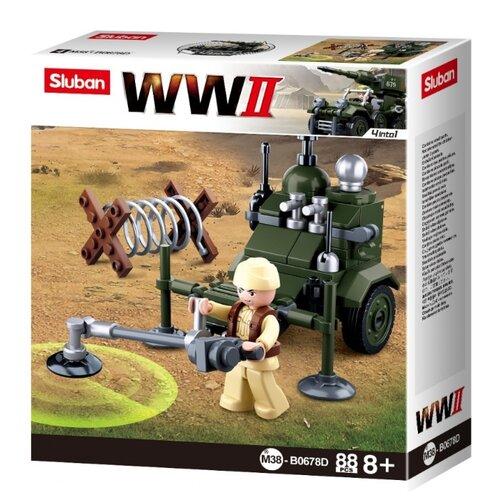 Купить Конструктор SLUBAN WW2 M38-B0678D 4 в 1, Конструкторы