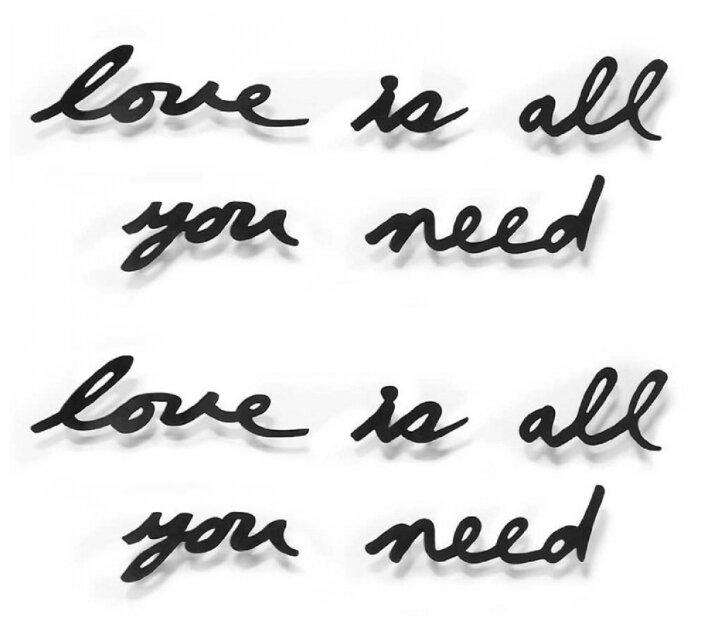 Надпись декоративная Umbra Love is all you need 470580-040