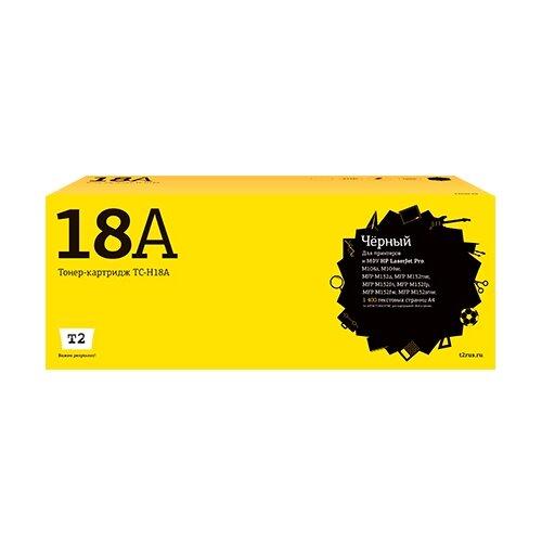 Фото - Картридж T2 TC-H18A, совместимый картридж t2 tc h272 совместимый