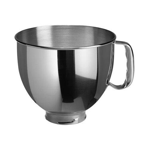 KitchenAid чаша для миксера K5THSBP серебристый