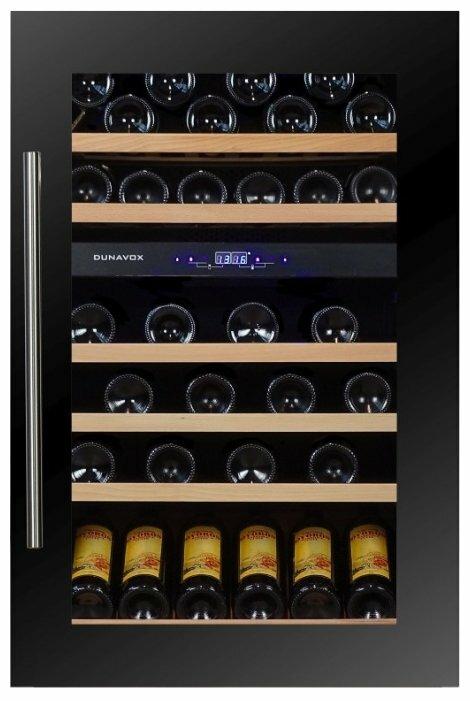 Встраиваемый винный шкаф Dunavox DX-57.146DBK фото 1